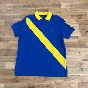 Vintage 90's Polo Ralph Lauren Striped Polo Shirt